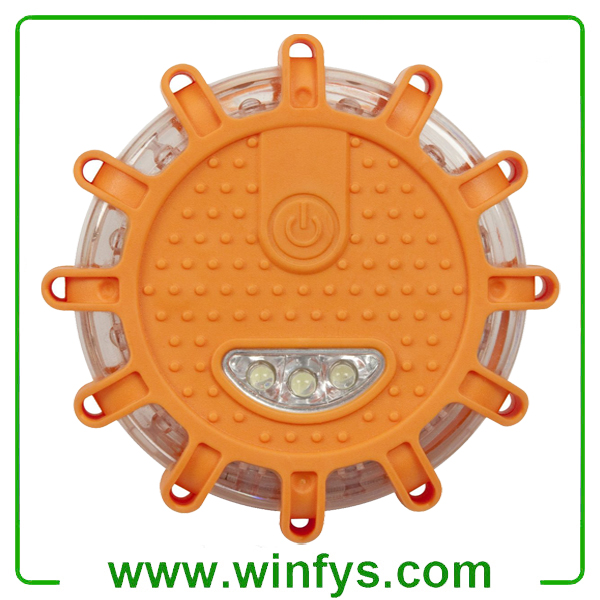 AAA Battery Flashing Roadside Emergency Disk