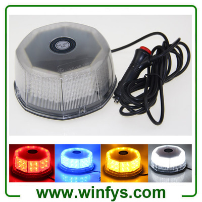 12V 240LED Car Truck Magnetic Flash Beacon Light Led Emergency Warning Strobe Lights
