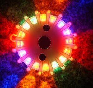 trike flares,led magnesium road flares, electronic flares