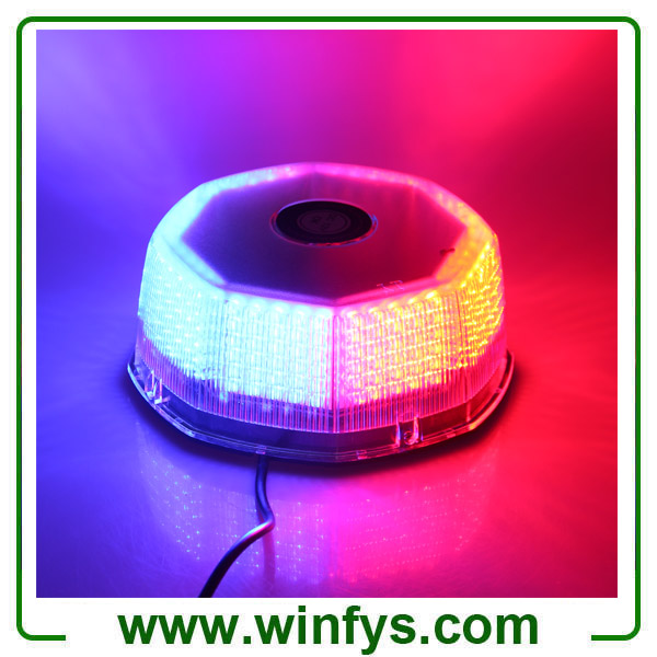 12V 240LED Car Truck Vehicle Beacon Light Magnetic Flash Beacon Light Led Emergency Warning Strobe Lights Red Blue