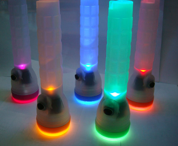 LED Glow Torch Flashlight