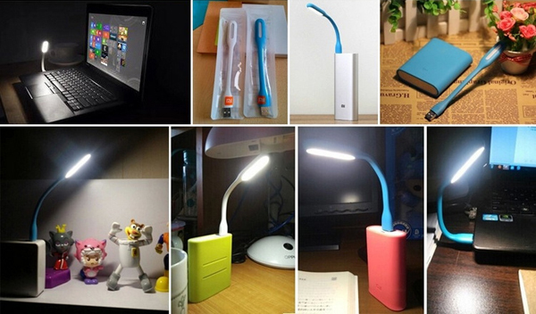 Led Mini USB Book Light Lamp