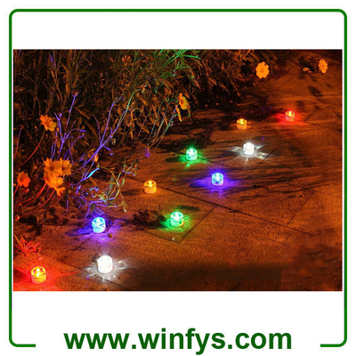 Solar Underground Light Solar LED Garden Decorate Lights Waterproof Garden Lights Solar Lawn Light