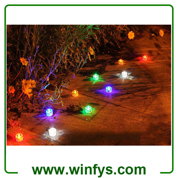 Solar Underground Light Solar LED Garden Decorate Lights Waterproof Outdoor Garden Lights Solar Lawn Light