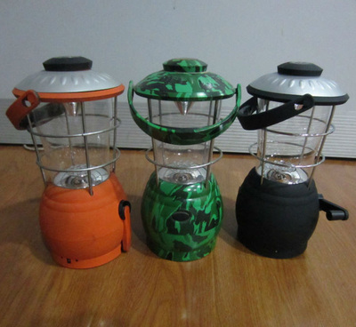 Dynamo LED Rechargeable Camping Lanterns Lights Lamps