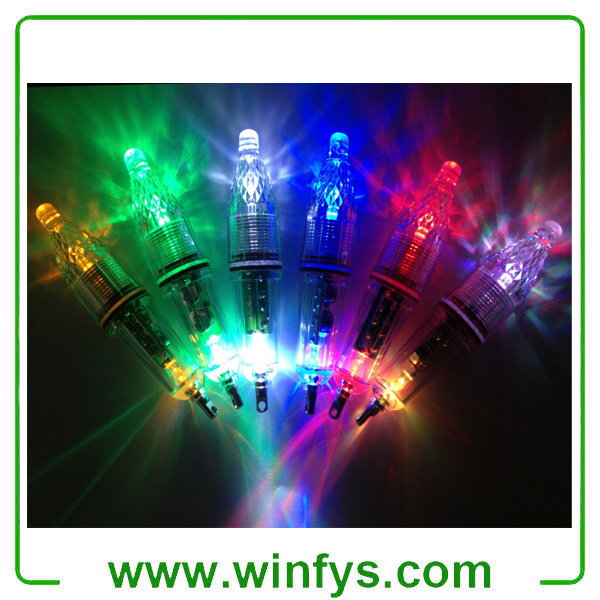 Mini LED Deep Drop Underwater Fishing Lure Light Squid Fish Lure Light Green Underwater Lure Light