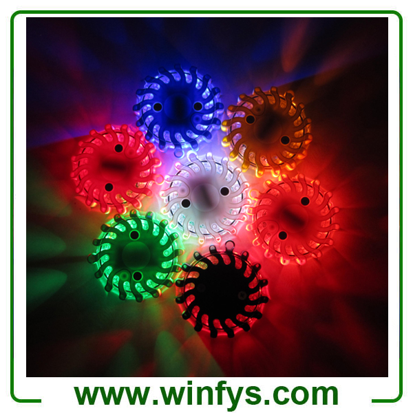 Led Road Flares Rechargeable Red Yellow White Blue Amber Orange Green Black