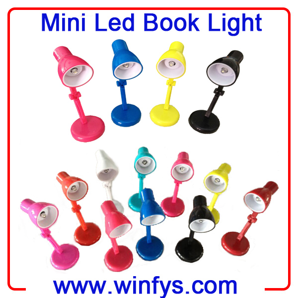 Led Mini Book Light With Clip Mini Led Book Light