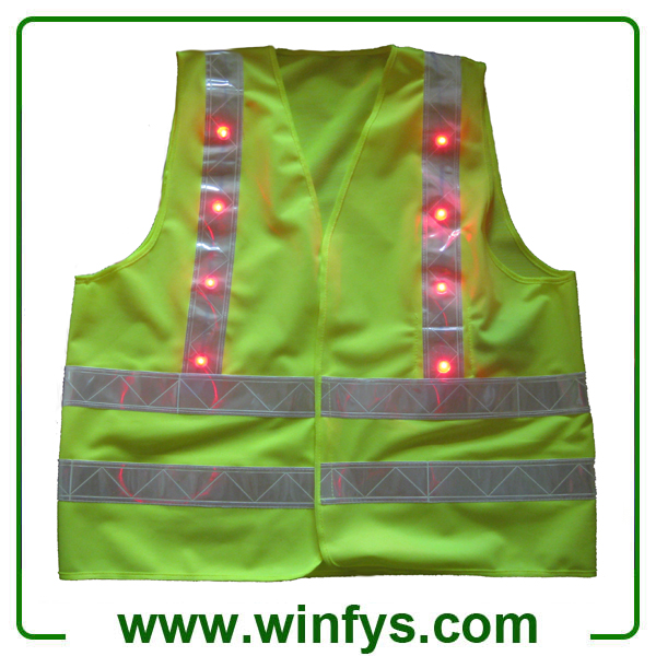 Lime Green Led Safety Jackets