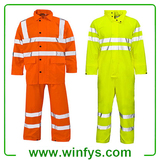 Hi-Vis Reflective Winter Road Safety Coat