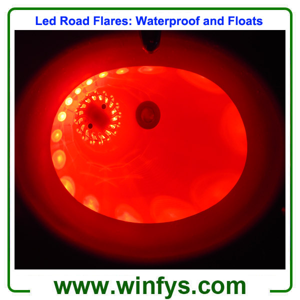 Led Road Flares Waterproof and Float