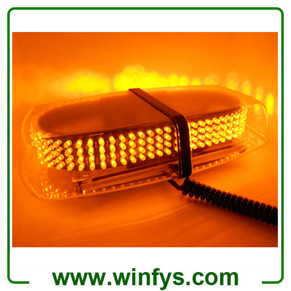 240Led Car LED Strobe Flashing Light Police Emergency Warning Strobe Beacon Light Bar Hazard Strobe Warning Lamp Clear Amber