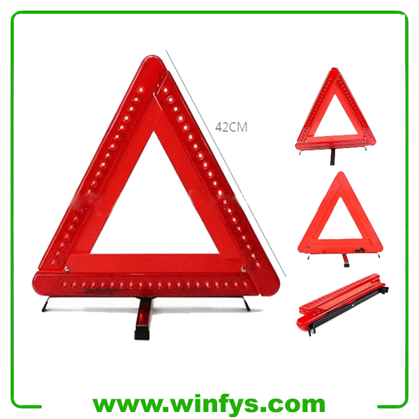 China LED Safety Flashing Warning Triangles Supplier and Manfacturer