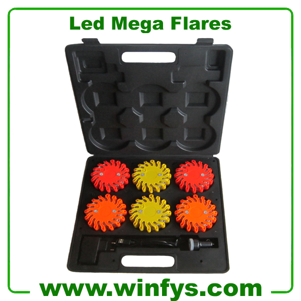 Rechargeable Led Mega Flares