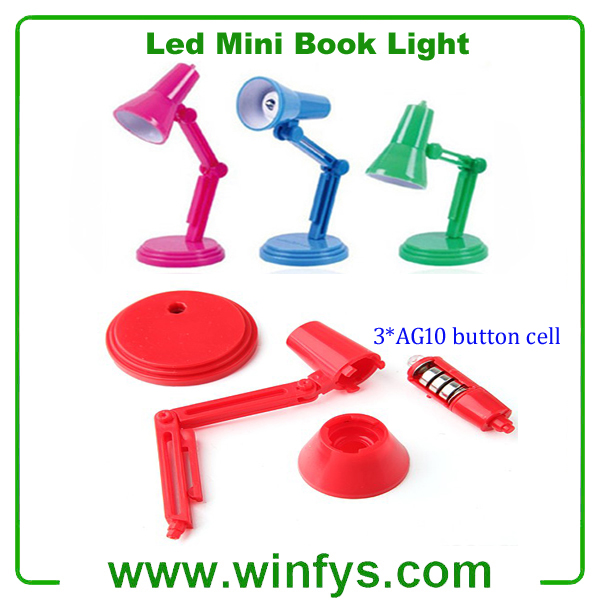 Led Mini Book Light With Clip