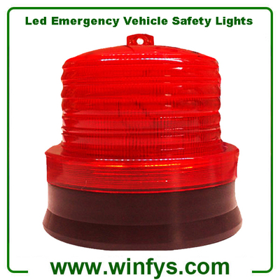 Red Led Emergency Vehicle Safety Lights