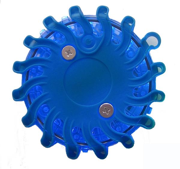 blue led safety flares kit