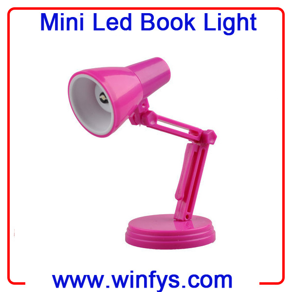 Led Mini Book Lamp With Clip