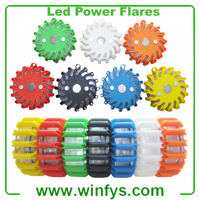 Led Power Flares Green Led