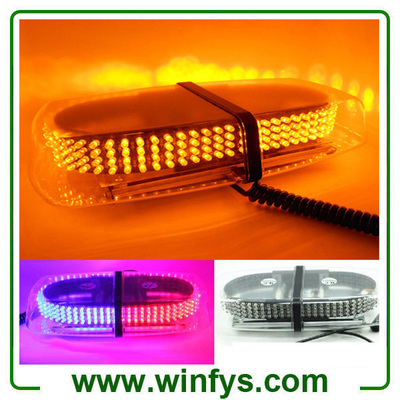 240Led Car LED Strobe Flashing Light Police Emergency Warning Strobe Beacon Light Bar Hazard Strobe