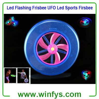 Led Flashing Frisbee Led Sports Firsbee
