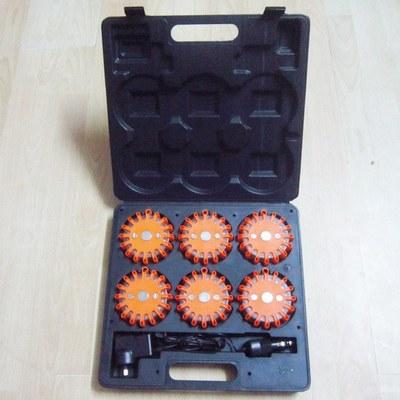 Бесплатная доставка 6 упак. 24 из светодиодов перезаряжаемые из светодиодов сигнализации