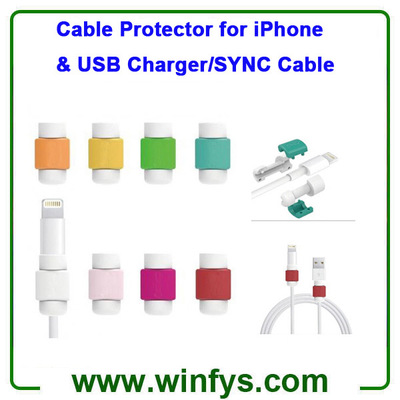 Cable Protector for iPhone USB Charger SYNC Cable