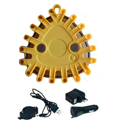 Yellow Rechargeable Led Flares Kits