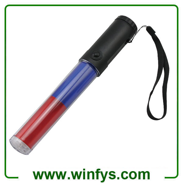 26cm PC Tube Led Red Blue Traffic Baton