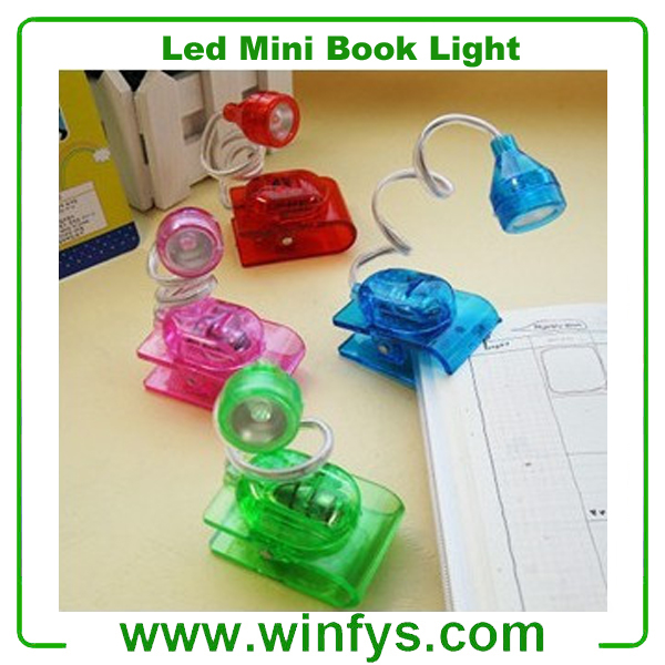 Creative LED Mini Desk Lamp LED Book Reading Light with Clip