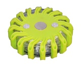 GREEN RECHARGEABLE PORTABLE 16 LED POWER FLARES