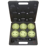 6 PACKS RECHARGEABLE LED SAFETY LIGHTS