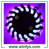 Violet Rechargeable Led Road Flares